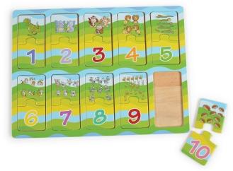 Õppemäng, Nubrid, pusle (DE5881) Hind 5€