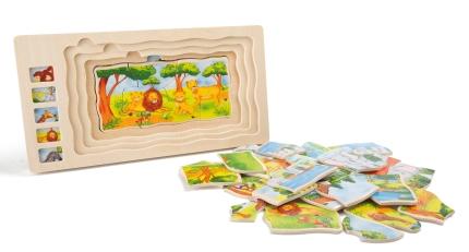 """""""Safari"""" 4 kihiline pusle (DE5887) Hind13.00€"""