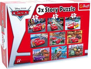 3 x Story Puzzle (DE3483)